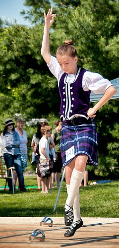Highland Dancing Competition