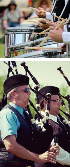 Drum and Piping Competition